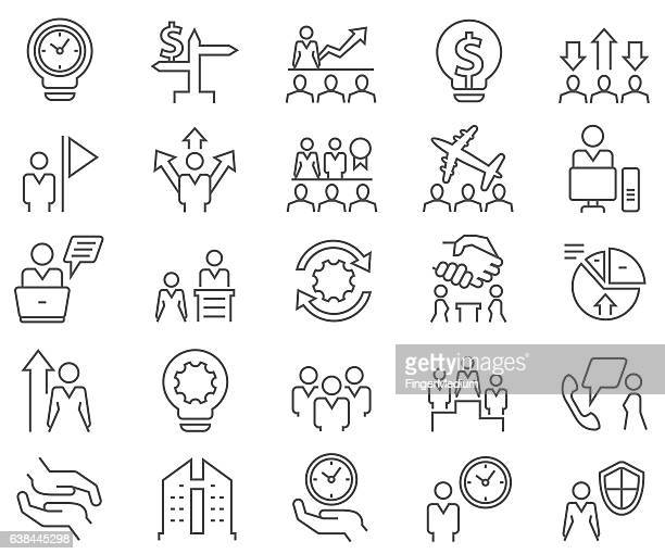 set di icone di Business