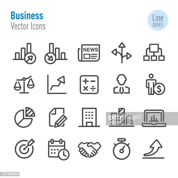 Business Icon - Vector Line Series