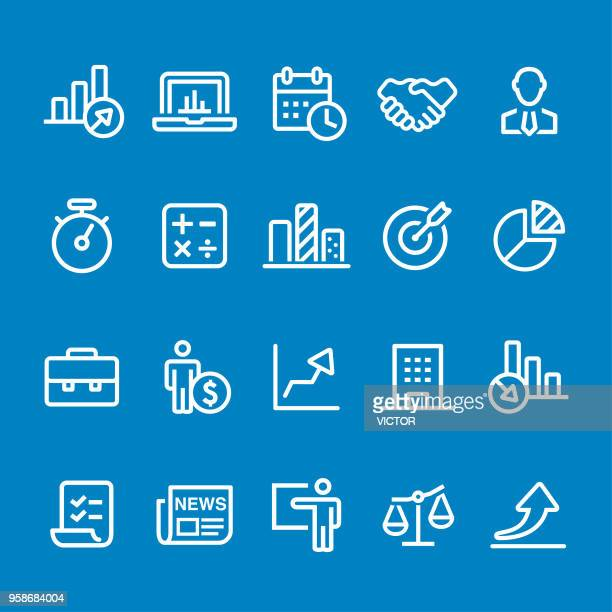 Business Icon - Vector Smart Line Series