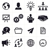 Business Icons and Symbols