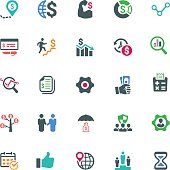 Business Icons - Color Series (Set 1)