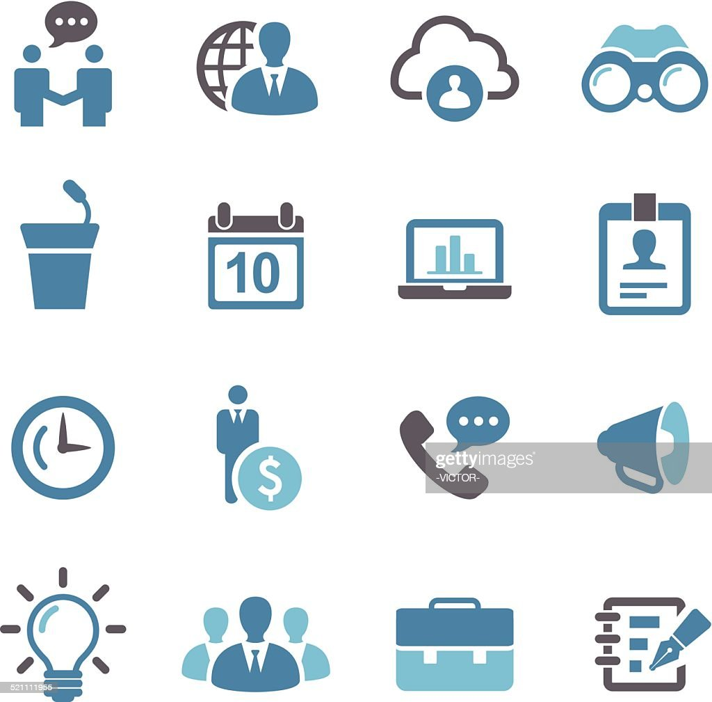 Business Icons - Conc Series