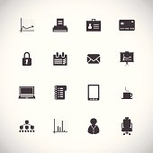 business icons for web and mobile applications