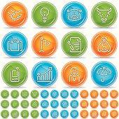 business icons - magico bola