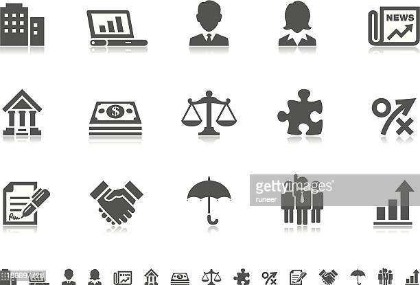 Business icons   Pictoria series