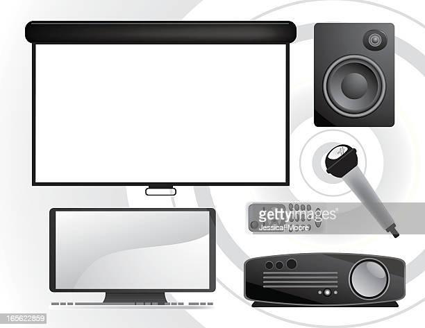 Business Icons: Presentation Set