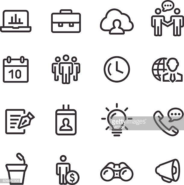 Business Icons Set - Line Series
