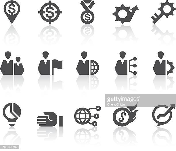 Business Icons   Simple Black Series