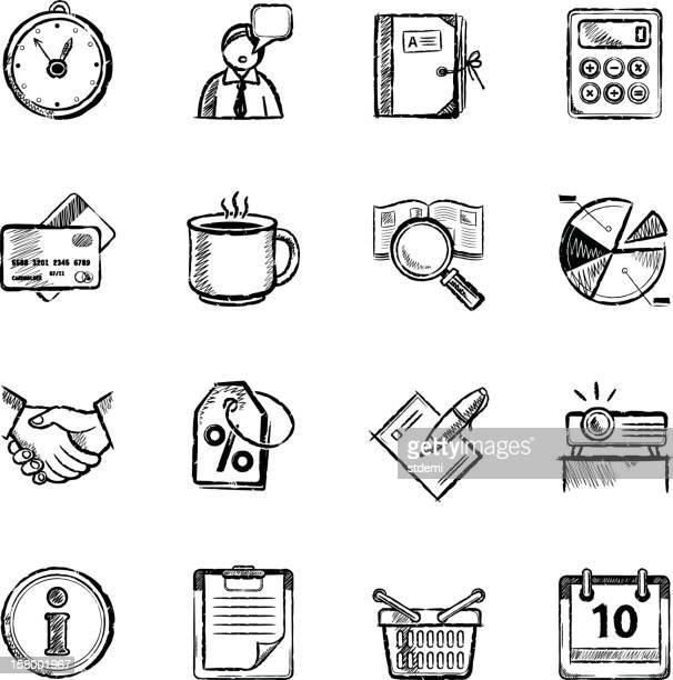 business icons - information symbol stock illustrations, clip art, cartoons, & icons