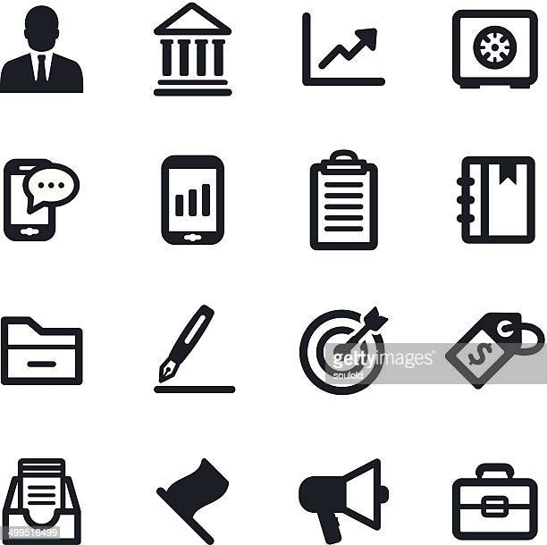 business icons - filing documents stock illustrations, clip art, cartoons, & icons
