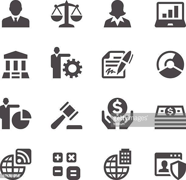 business icons - scales stock illustrations
