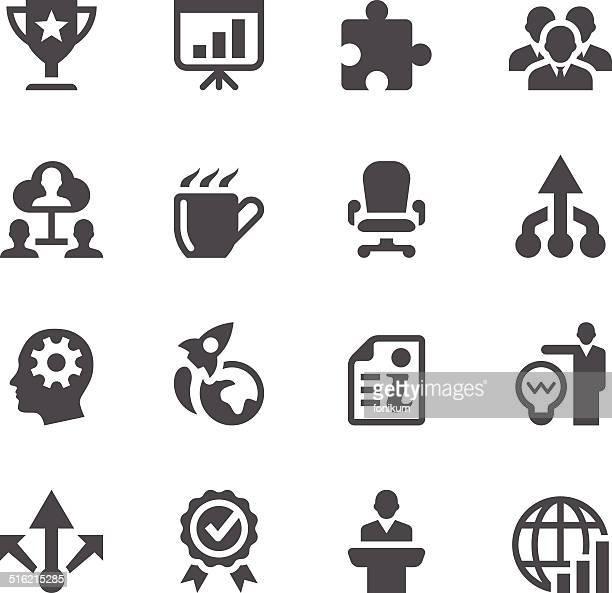 illustrazioni stock, clip art, cartoni animati e icone di tendenza di icone aziendali - mondo beat