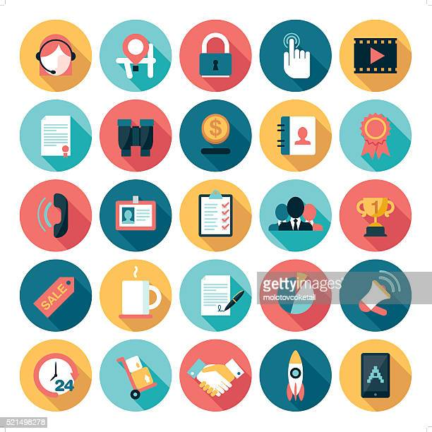 business icons - interactivity stock illustrations, clip art, cartoons, & icons