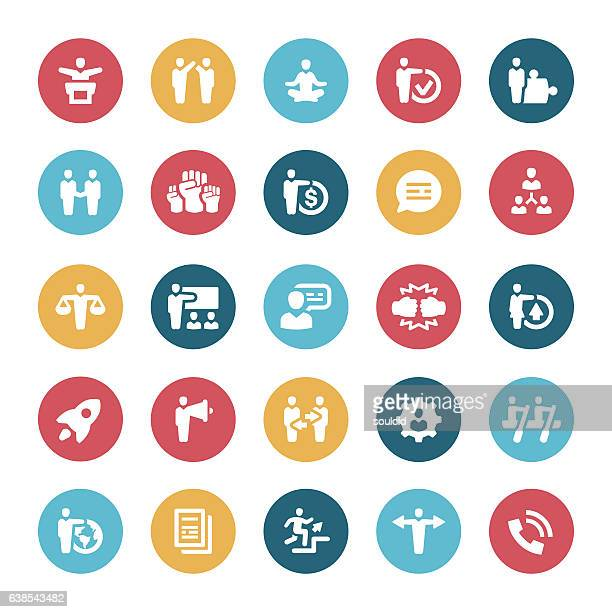 business icons - office fight stock illustrations, clip art, cartoons, & icons