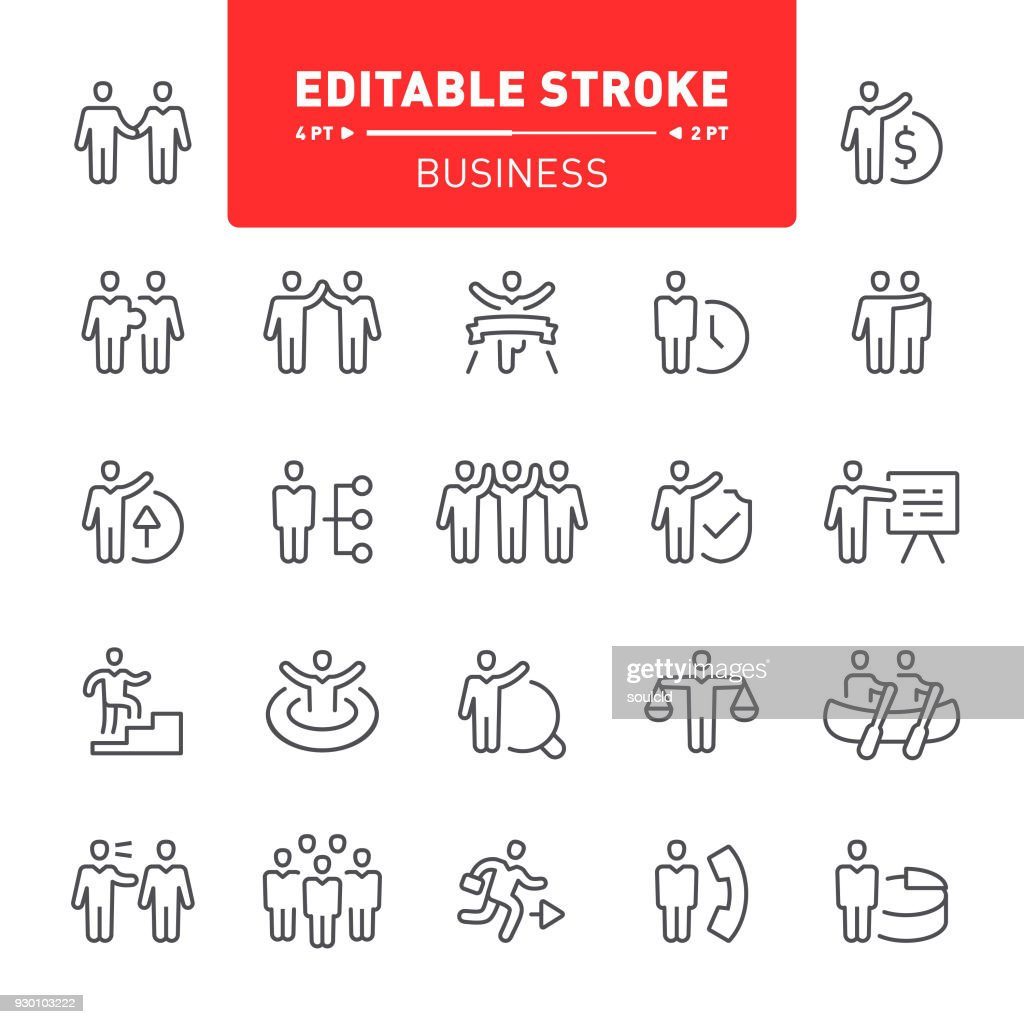 Business Icons : stock illustration