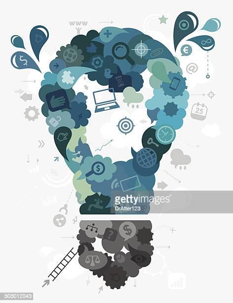 Business Idea Bulb Concept