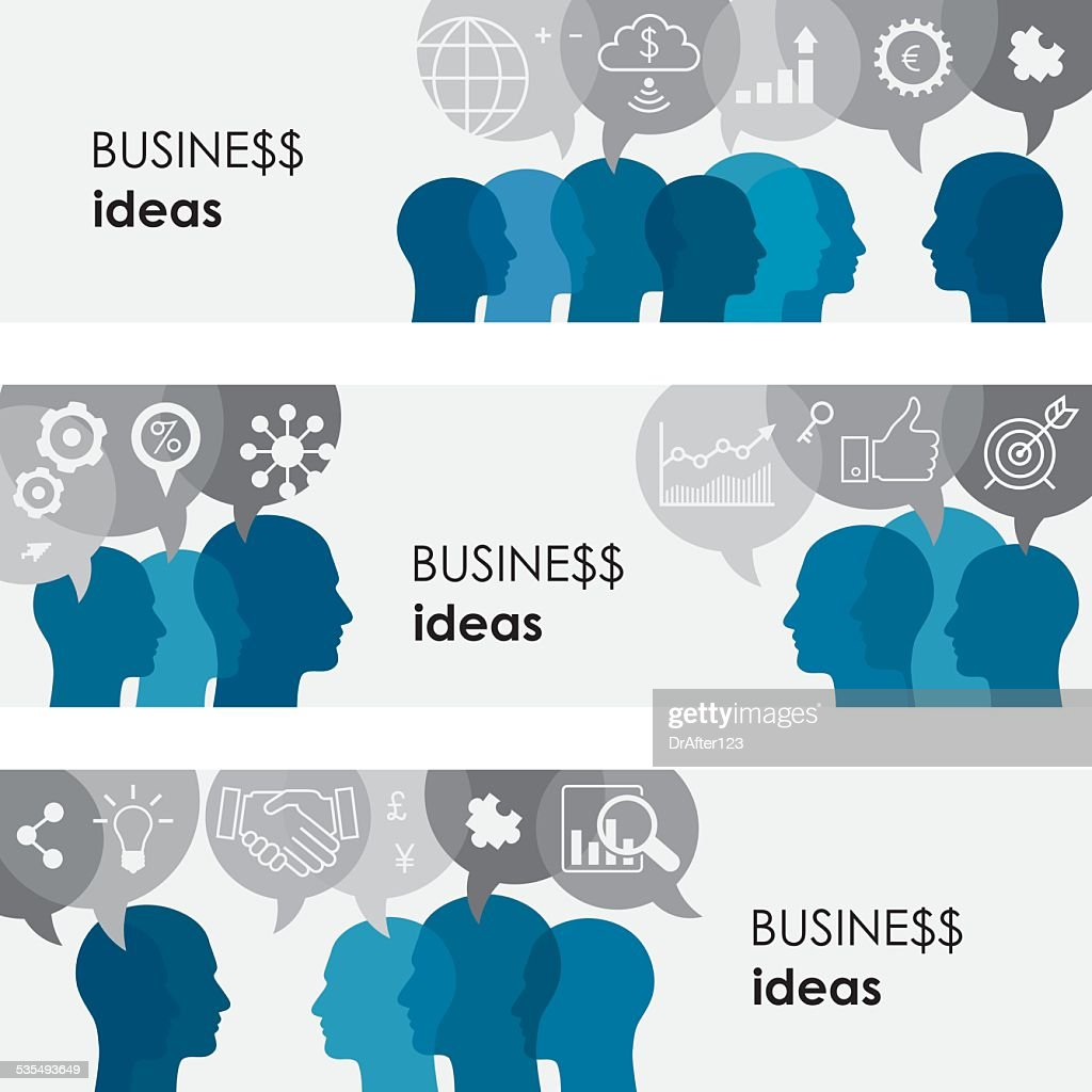 Business Ideas Banners