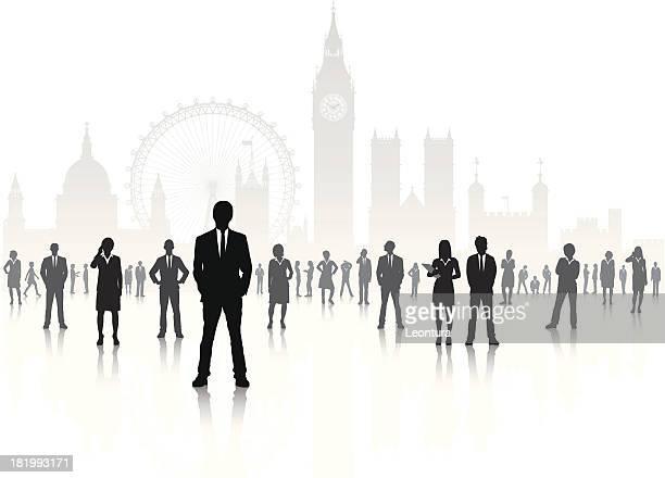 geschäftsreisende in london - full suit stock-grafiken, -clipart, -cartoons und -symbole