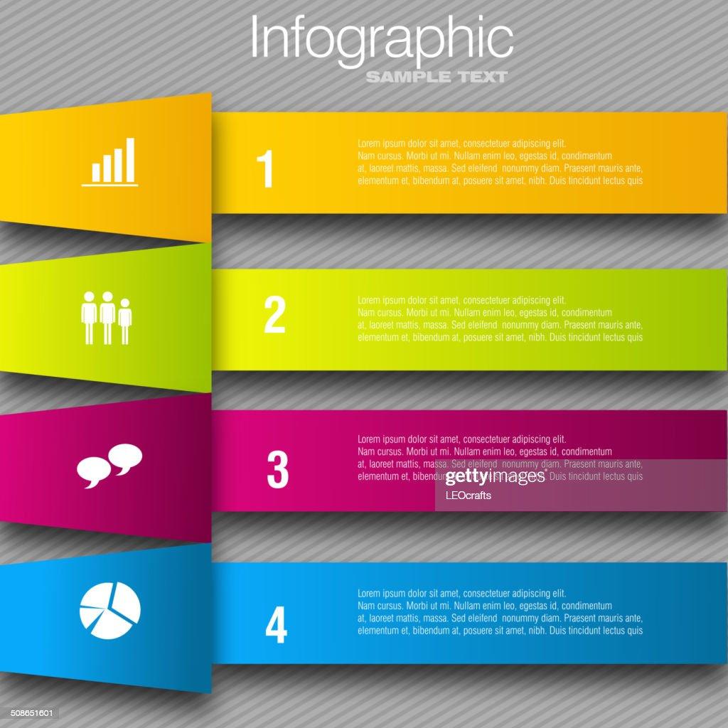 Business infographic design : stock illustration