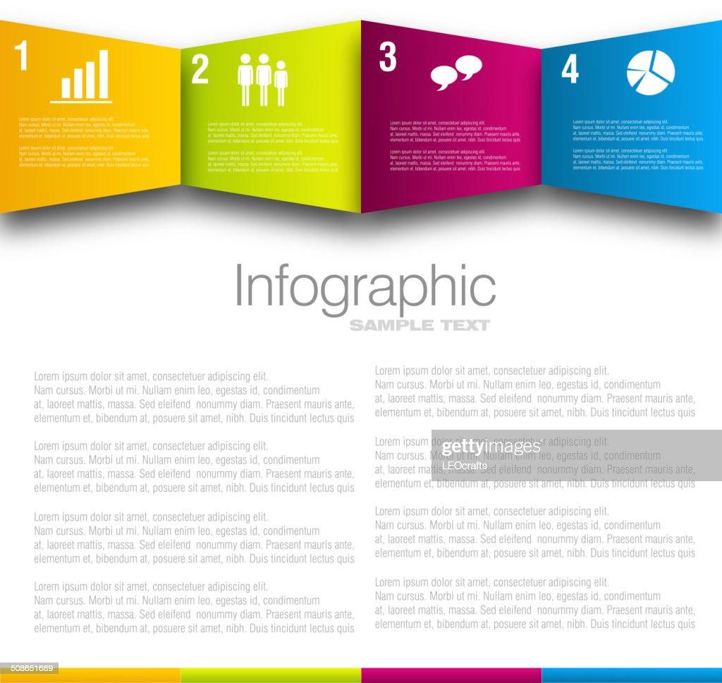 Business infographic design : Vector Art