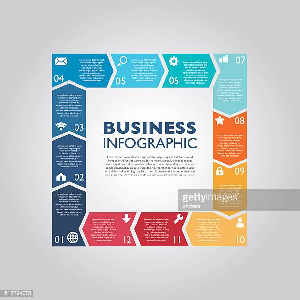 business infographic - board game stock illustrations