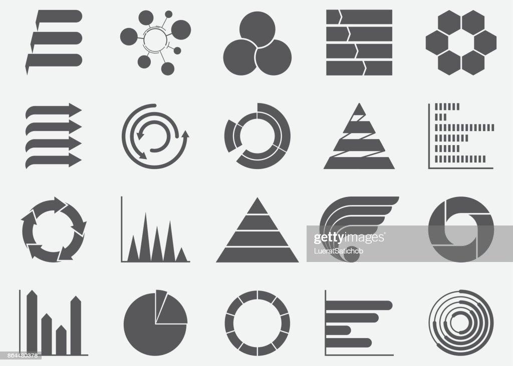 Business Infografiken Grafik Icons : Stock-Illustration