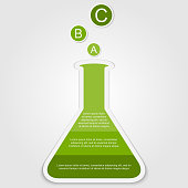 Business Infographics scientific style. Vector illustration.