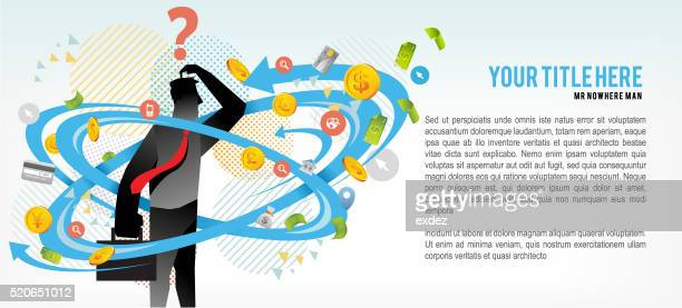 business insecurity copy space - surrounding stock illustrations, clip art, cartoons, & icons