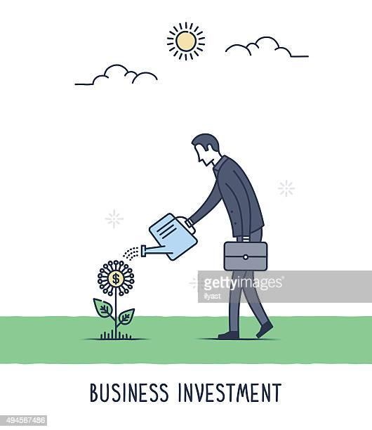 Investissements d'affaires