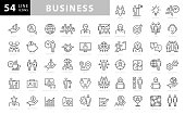 Business Line Icons. Editable Stroke. Pixel Perfect. For Mobile and Web. Contains such icons as Handshake, Target Goal, Agreement, Inspiration, Startup