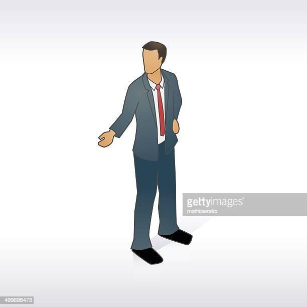 ilustrações de stock, clip art, desenhos animados e ícones de homem de negócios de ilustração - mathisworks