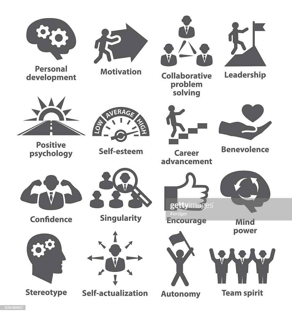 Business management icons. Pack 16.