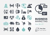 Business Marketing icon set 7