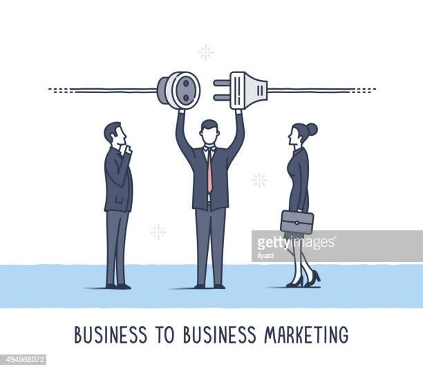 b2b-business-marketing - cupidon stock-grafiken, -clipart, -cartoons und -symbole