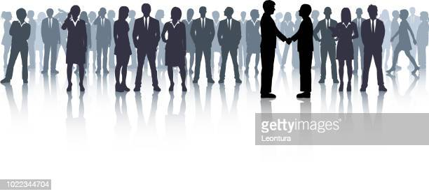business meeting - number of people stock illustrations, clip art, cartoons, & icons