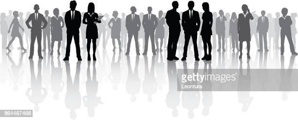 ビジネス会議 (すべての人々 が完全なと移動可能)