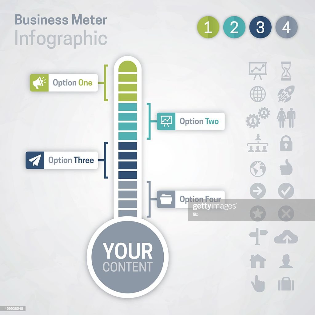 Business Meter : stock illustration