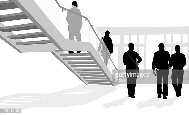 business mission - leaving stock illustrations