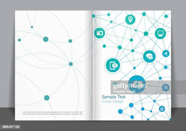 business networks cover design - covering stock illustrations, clip art, cartoons, & icons