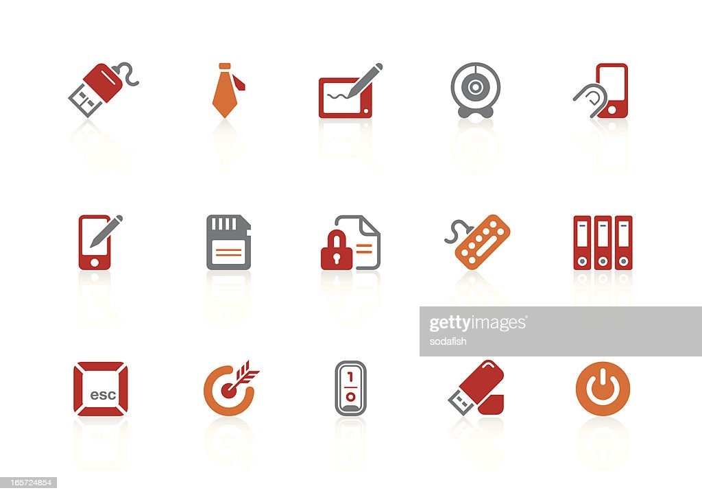 Business & office icons | alto series