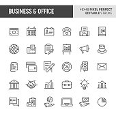 Business & Office Vector Icon Set