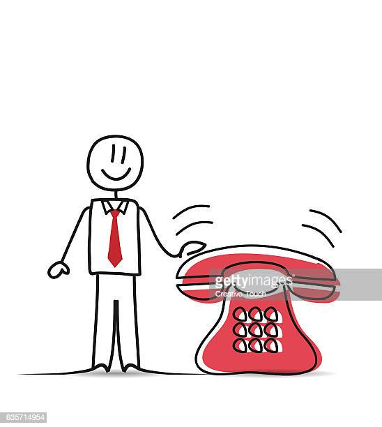 business people and classic phone - {{relatedsearchurl('racing')}} stock illustrations, clip art, cartoons, & icons