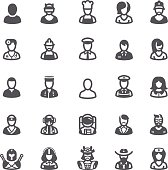 Business people avatars icons