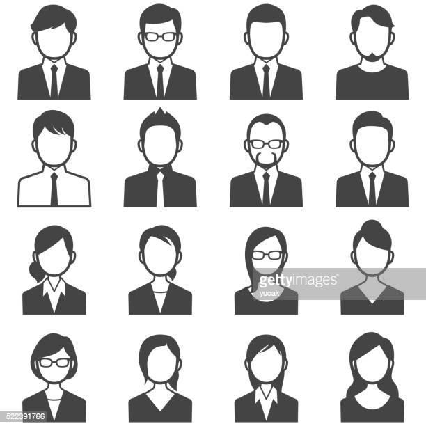 Business Personen-Avatare