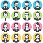 Business people avatars