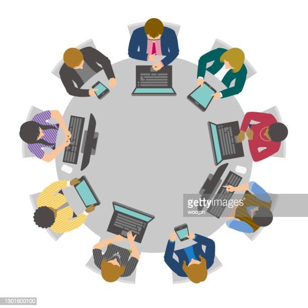 Round Table Discussion Photos And Premium High Res Pictures Getty Images