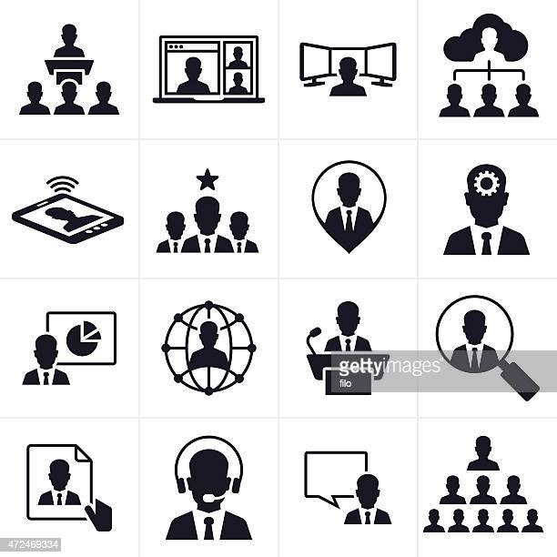 Business People Symbols