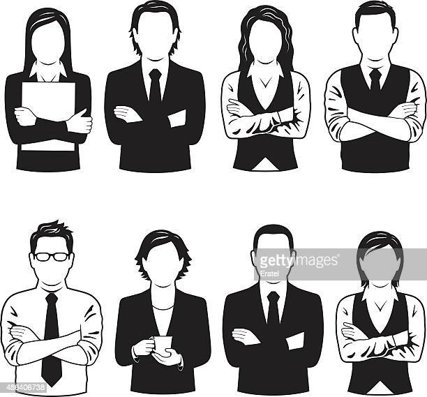 Business People Symbols
