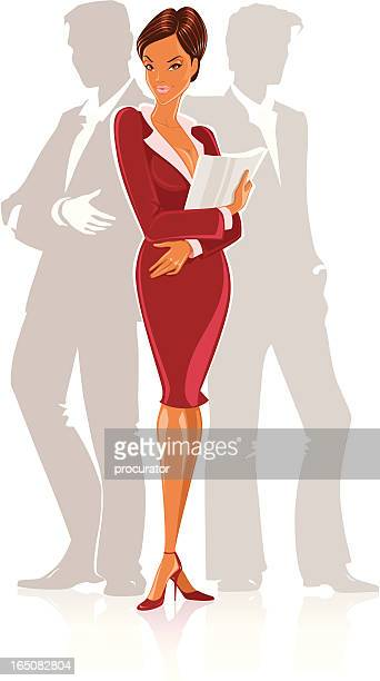 ilustraciones, imágenes clip art, dibujos animados e iconos de stock de personas de negocios - glamour