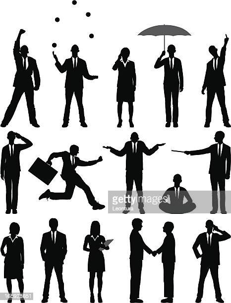 business people - shrugging stock illustrations, clip art, cartoons, & icons